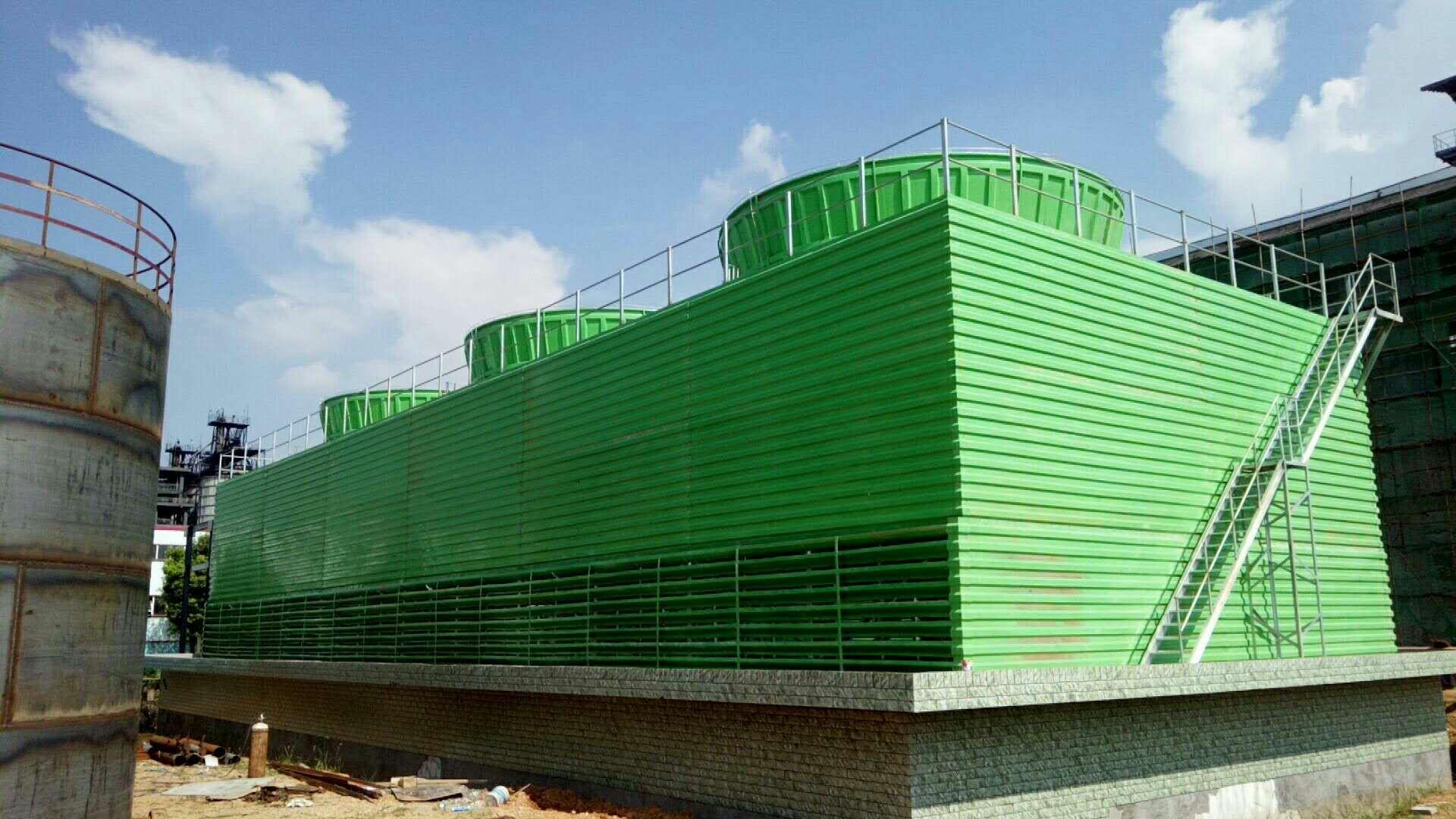 工业型冷却塔噪声的技术措施与治理方案