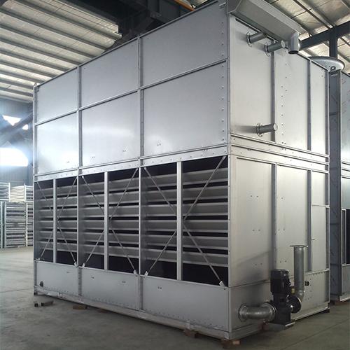 喷雾式冷却塔如何进行安装