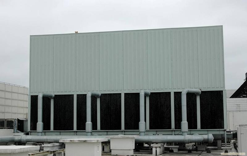 喷雾式冷却塔的清洗问题